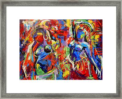 Carnival- Large Work Framed Print