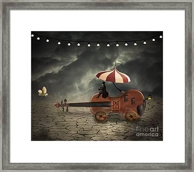 Mr. Dark Framed Print by Juli Scalzi