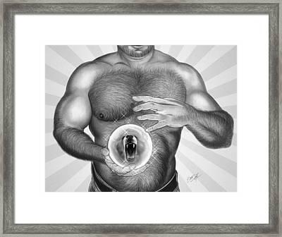 Carnival Of Bears Framed Print
