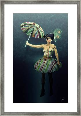 Carnival Of Paris Framed Print by Joaquin Abella