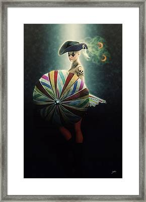 Carnival Of The Pirates Framed Print by Joaquin Abella