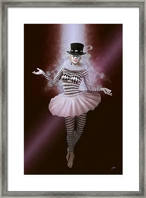 Carnival Pierrette Framed Print