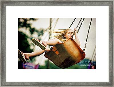 Carnival Ride - D009617-b Framed Print by Daniel Dempster