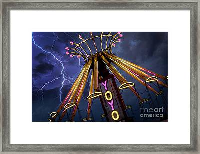 Carnival Ride Framed Print by Juli Scalzi