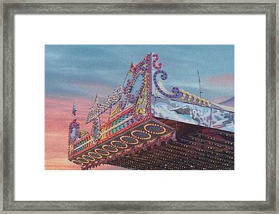 Carnival Framed Print by Art Spectrum