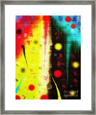 Framed Print featuring the digital art Carnival by Silvia Ganora