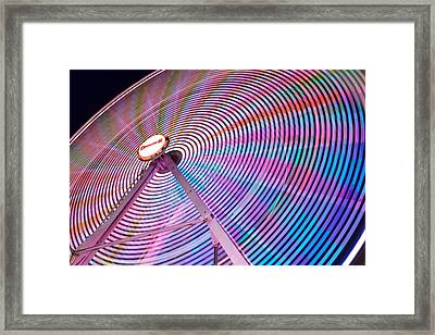 Carnival Spectacle Framed Print