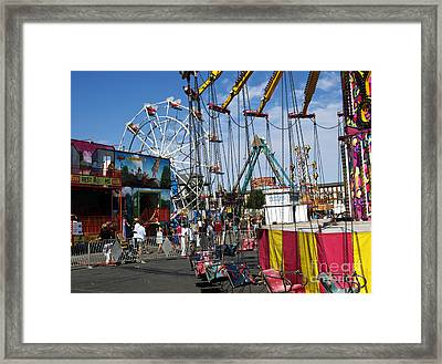 Carnival Starts Today Framed Print