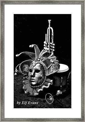 Framed Print featuring the photograph Carnival Time by Elf Evans