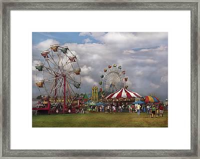 Carnival - Traveling Carnival Framed Print