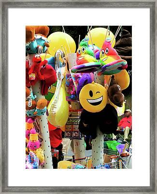 Carnival Vendor 1 Framed Print