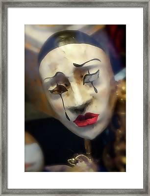 Carnivale Mask 2 Framed Print