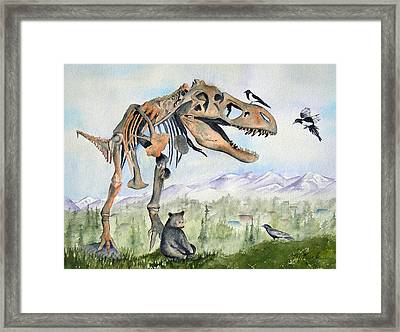 Carnivore Club Framed Print
