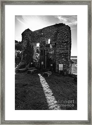 Framed Print featuring the photograph Photographs Of Cornwall Carnon Mine by Brian Roscorla
