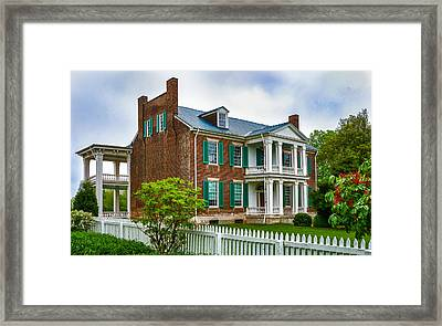 Carnton Plantation Framed Print by Richard Marquardt