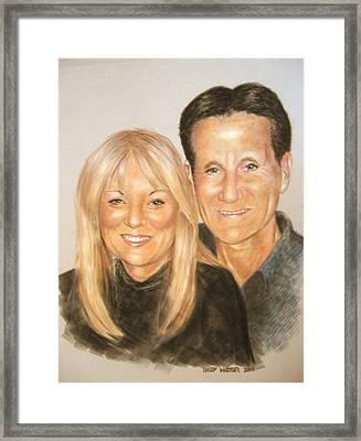Carol And Stefan Framed Print