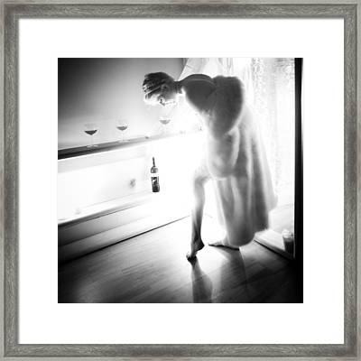 Carol Anne - 001 Framed Print by AE Samaan