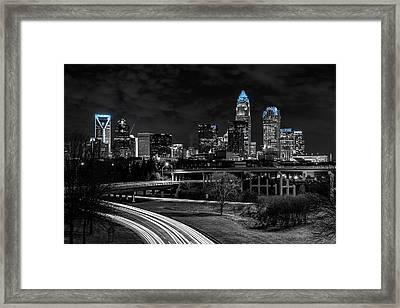 Carolina Blue Southside Framed Print