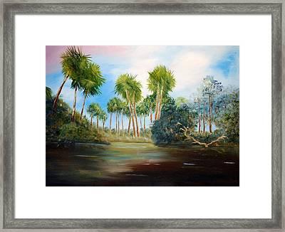 Carolina Breeze Framed Print by Phil Burton