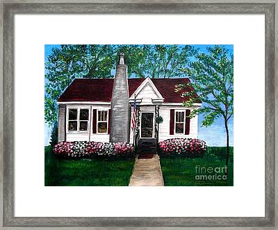 Carolina Home Framed Print