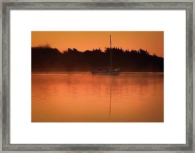 Carolina Mist Framed Print by Karen Wiles