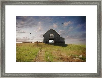 Carolina Quilt Barn Framed Print