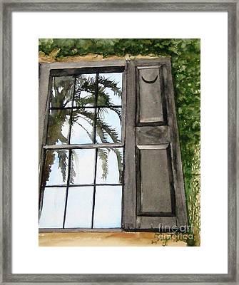 Carolina Reflections Framed Print by Carla Dabney