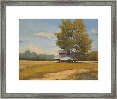Carolina Tobacco Barn Framed Print