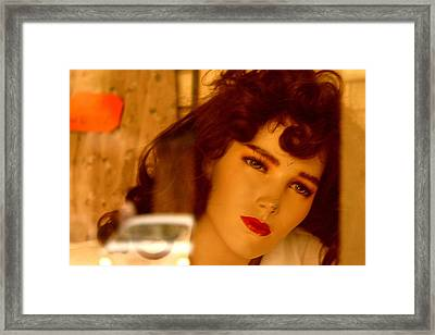 Caroline Framed Print by Jez C Self