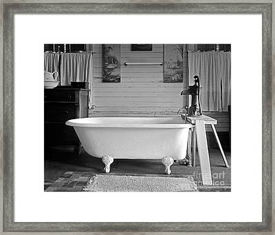 Caroline's Key West Bath Framed Print