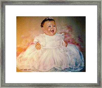 Carol's Niece Framed Print