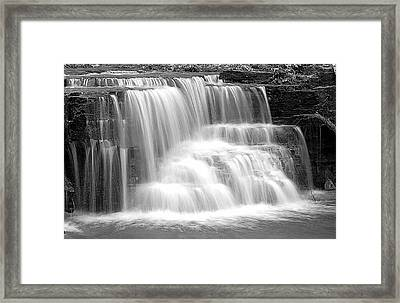Caron Falls Framed Print