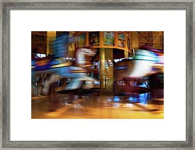 Carousel 1 Framed Print by Tim Nichols