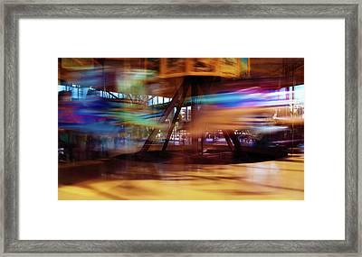 Carousel 2 Framed Print by Tim Nichols