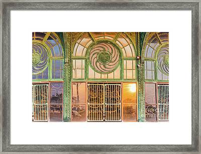 Carousel Entrance Framed Print