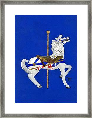 Carousel Horse #1 Framed Print
