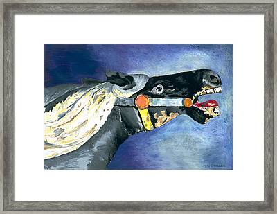 Carousel Horse 2 Framed Print by Stephen Anderson