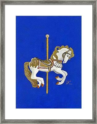Carousel Horse #3 Framed Print