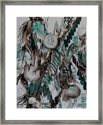 Carousel Horse Framed Print