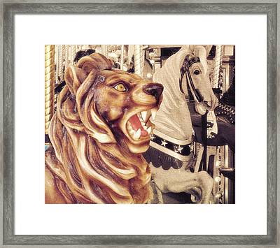 Carousel King Framed Print by JAMART Photography
