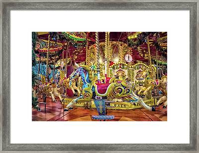 Carousel Framed Print by Martin Newman