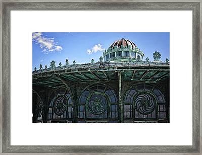 Carousel Framed Print by Raven Steel Design