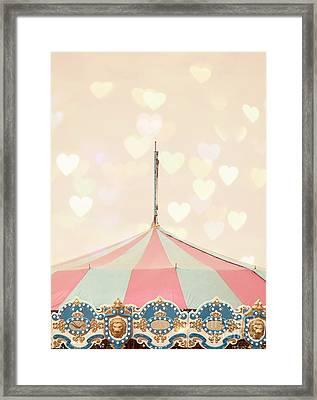 Carousel Tent Framed Print