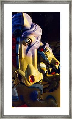 Carousel Framed Print by William Thomas