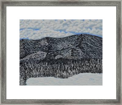 Carpathians Framed Print by Anca Mitescu