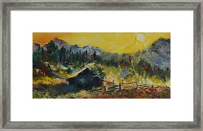 Carpathians Framed Print by Olga Bartysh