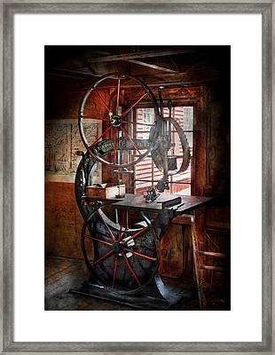 Carpenter - Industrial Strength Framed Print by Mike Savad