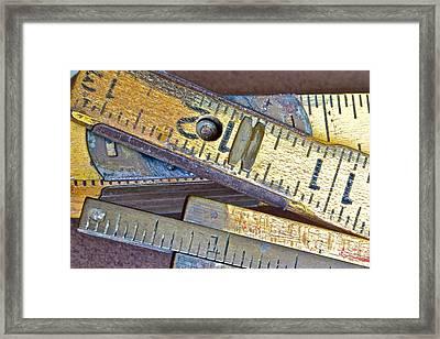 Carpenter's Rule Framed Print