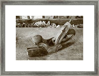 Carpentry Tools Framed Print by Gaspar Avila