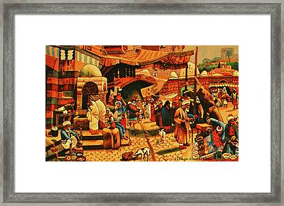 Carpet 2 Framed Print by Chaza Abou El Khair